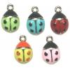Pendant Ladybugs Epoxy Assorted